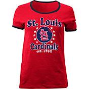 5th & Ocean Women's St. Louis Cardinals Red T-Shirt