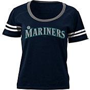 5th & Ocean Women's Seattle Mariners Navy Scoop Neck Shirt