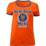 5th & Ocean Women's New York Mets Orange T-Shirt