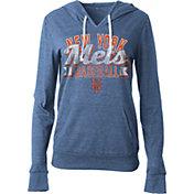 5th & Ocean Women's New York Mets Royal Tri-Blend Hoodie