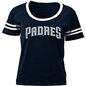5th & Ocean Women's San Diego Padres Navy Scoop Neck Shirt