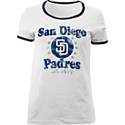 5th & Ocean Women's San Diego Padres White T-Shirt