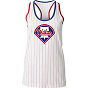 5th & Ocean Women's Philadelphia Phillies Pinstripe White Tank