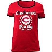 5th & Ocean Women's Cincinnati Reds Red T-Shirt