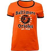 5th & Ocean Women's Baltimore Orioles Orange T-Shirt