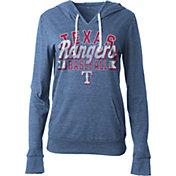 5th & Ocean Women's Texas Rangers Royal Tri-Blend Hoodie