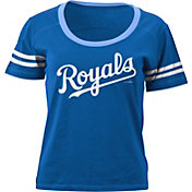 5th & Ocean Women's Kansas City Royals Royal Scoop Neck Shirt