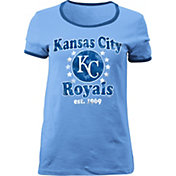 5th & Ocean Women's Kansas City Royals Light Blue T-Shirt