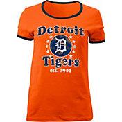 5th & Ocean Women's Detroit Tigers Orange T-Shirt