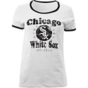 5th & Ocean Women's Chicago White Sox White T-Shirt