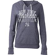 5th & Ocean Women's New York Yankees Navy Tri-Blend Hoodie