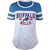 5th & Ocean Women's Buffalo Bills Space Dye Red T-Shirt