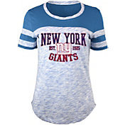 5th & Ocean Women's New York Giants Space Dye Red T-Shirt