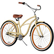 sixthreezero Women's Scholar Three Speed Beach Cruiser Bike