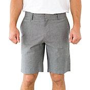 Linksoul Men's Chambray Tonal Stripe Golf Shorts