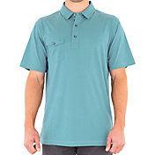 LINKSOUL Men's Coast Highway Classic Knit Golf Polo