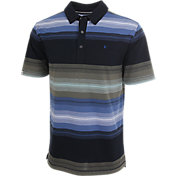 Linksoul Printed Stripe Knit Polo
