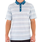 Linksoul Cotton Yarn Dyed Stripe Polo