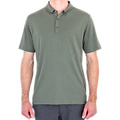 Linksoul Button-Down Interlock Knit Polo