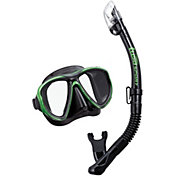 TUSA Sport Adult PowerView Dry Snorkeling Combo
