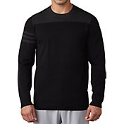 adidas Men's 3-Stripes Crew Neck Golf Sweater