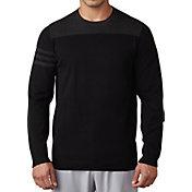 adidas Men's 3-Stripes Crew Neck Golf Sweater