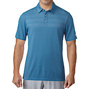 adidas Men's 3-Stripes Mapped Golf Polo