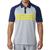 adidas Men's climacool® 3-Stripes Competition Golf Polo