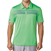 adidas Men's climacool Chest Print Golf Polo