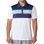adidas Men's climacool Engineered Block Golf Polo