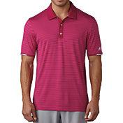 adidas Men's climachill Tonal Stripe Golf Polo