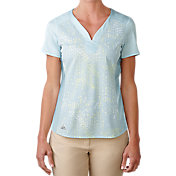 adidas Women's Tour Bonded Mesh Golf Shirt