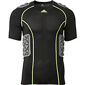 adidas Adult Padded techfit Football Shirt