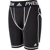 adidas Boys' Phenom Sliding Shorts w/Cup