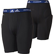 adidas Boys' Phenom Sliding Shorts w/ Cup