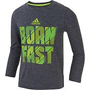 adidas Little Boys' Born Fast Long Sleeve Shirt