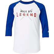 adidas Boys' Walk Off Legend ¾ Sleeve Practice Shirt