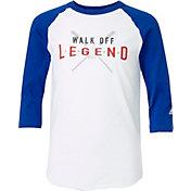 adidas Boys' Walk Off Legend ¾ Sleeve Practice Shirt