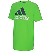 adidas Little Boys' clima Performance Logo T-Shirt
