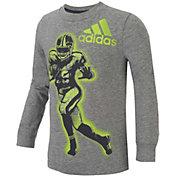 adidas Little Boys' Game Time Long Sleeve Shirt