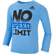 adidas Little Boys' No Limit Long Sleeve Shirt