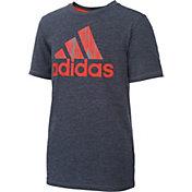 adidas Little Boys' Print Logo T-Shirt