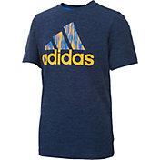 adidas Boys' Print Logo T-Shirt