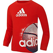 adidas Little Boys' Sport Wrap Long Sleeve Shirt