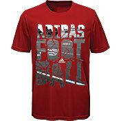 adidas Boys' Field Shatter Graphic Football T-Shirt