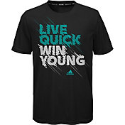 adidas Boys' Live Quick Performance Graphic T-Shirt