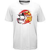 adidas Boys' Mash Football Graphic T-Shirt