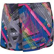 adidas Little Girls' Breakaway Print Woven Shorts