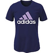 adidas Girls' Logo T-Shirt