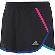 adidas Little Girls' Finish Line Woven Shorts